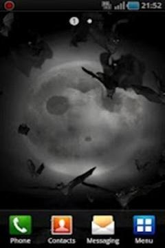 黑暗的夜晚主题壁纸