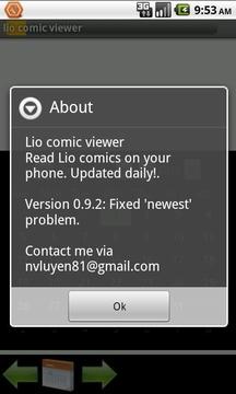 Lio comic viewer