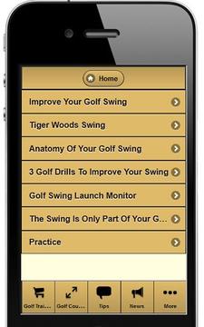 Golf Swing Improve