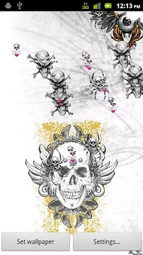 Skull Attack LWP Free