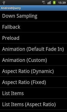 AndroidQuery代码段
