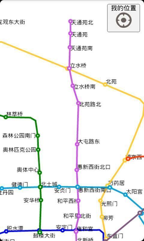 北京地铁线路图 新宫到北京西站多长时间