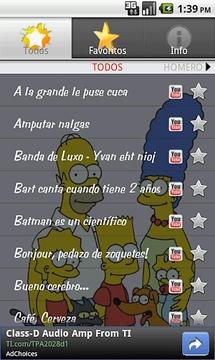 Los Simpson Soundboard (Lat)