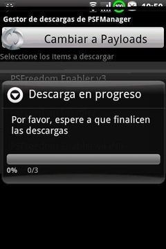 PSFreedom Manager para HTC G1