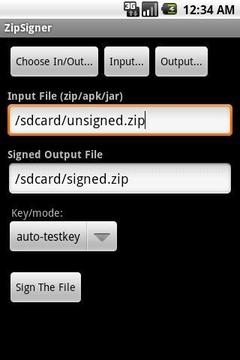 APK签名