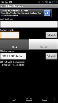 ipv6 Subnet Calculator