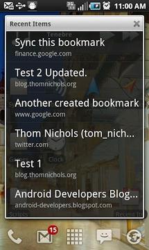 GMarks (Google Bookmarks)