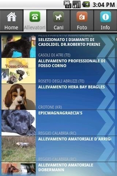 dogs puppies breeders in ITALY