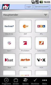 rtv-Fernsehguide (Phones)