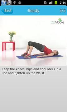 美女背部锻炼FREE