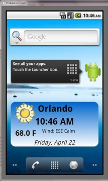 PWS Time and Weather Widget
