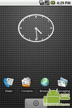 椭圆透明时钟 2x2