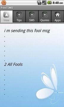 Fool SMS