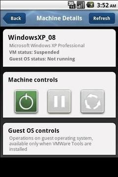 VMDroid Lite client for VMware