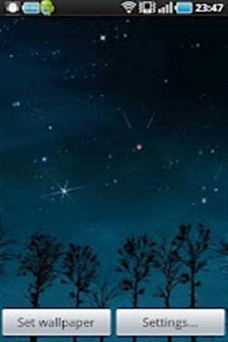 流星壁纸(Falling Stars)