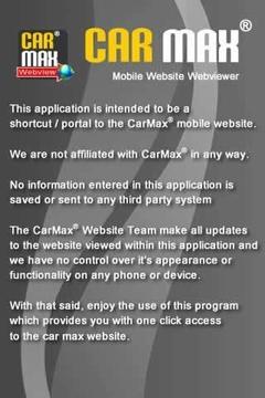 CarMax® Webview