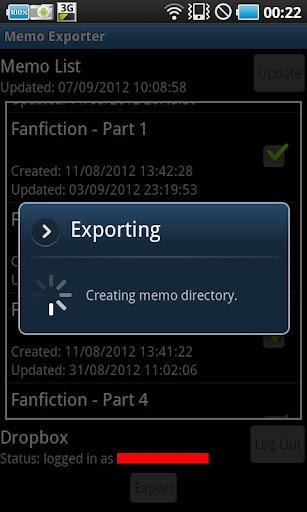 Memo Exporter
