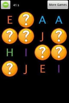 记忆字母游戏