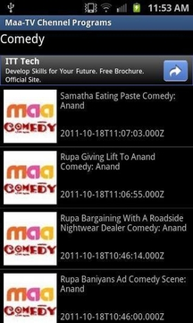 Maa-TV Chennel Programs