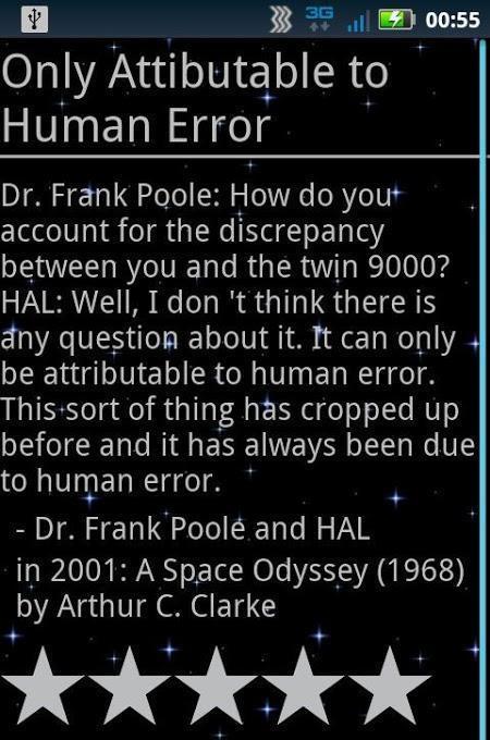 sci-fi quotes