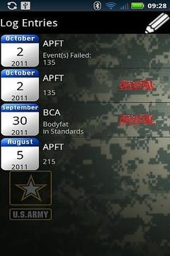 Army PFT