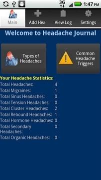 Headache Journal Free