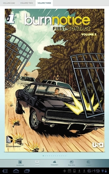 Burn Notice Graphic Novel