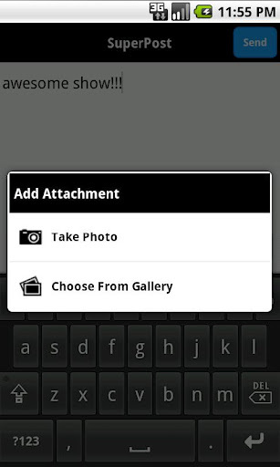 聚友网 MySpace Mobile