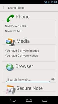 Secret Phone (free)