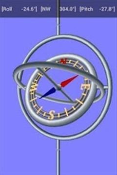 3 D指南针