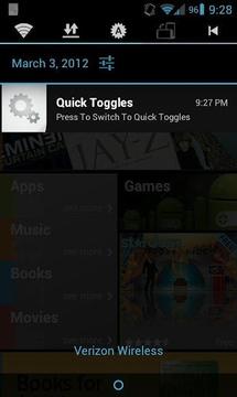Quick Toggles