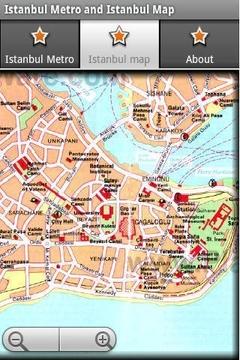 伊斯坦布尔地铁运行图