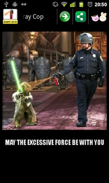 Pepper Spray Cop meme