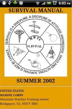 USMC Summer Survival Manual