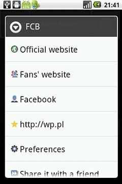 FCB Fan Widget