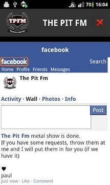 the pit fm