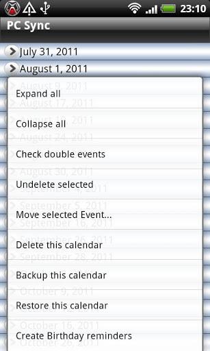 Calendar Repair Free