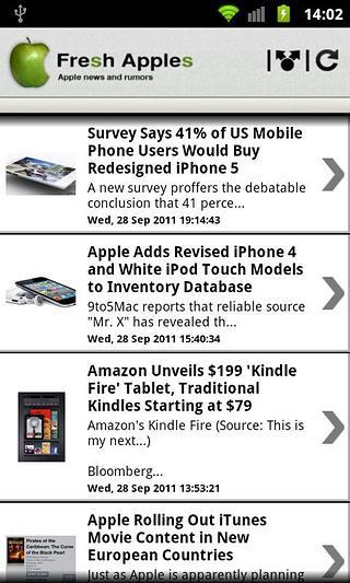 新鲜的苹果(Apple新闻)