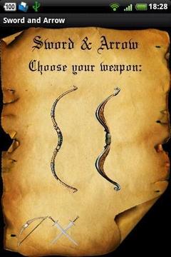 Sword and Arrow