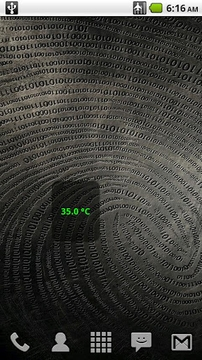 CPU Temperature Widget