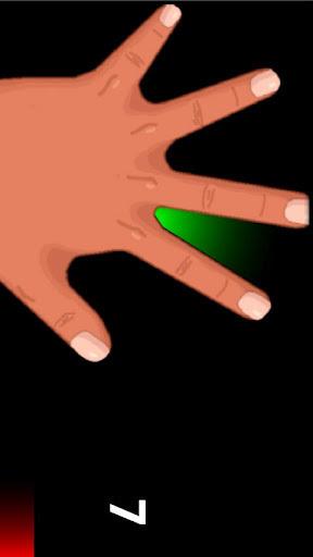 五个手指飞镖