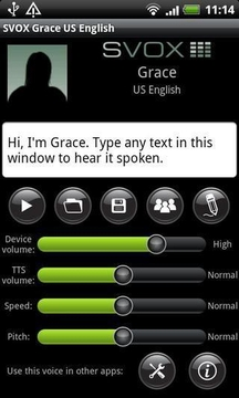 SVOX US English Grace Trial