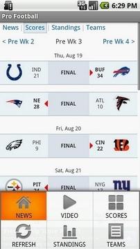 NFL—职业橄榄球