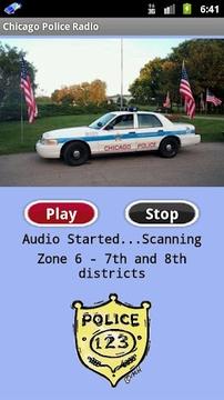 芝加哥警察广播电台