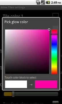 Glow Tiles Live Wallpaper