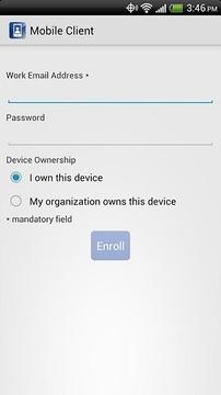IBM Mobile Client