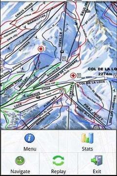 滑雪信息查看