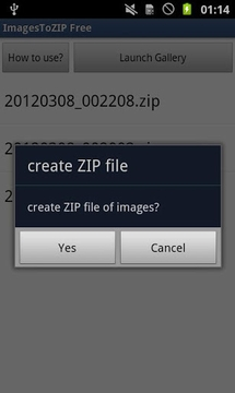 ImagesToZIP Free