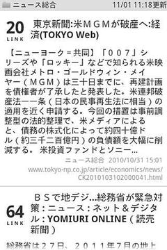 ニュースリーダー by Ceron.jp