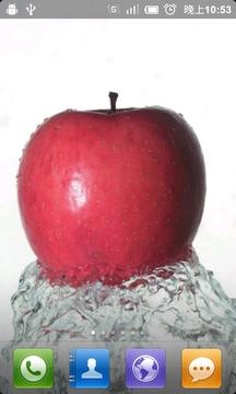 红苹果动态壁纸图片